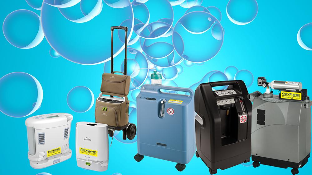 Geräte für Sauerstofftherapie