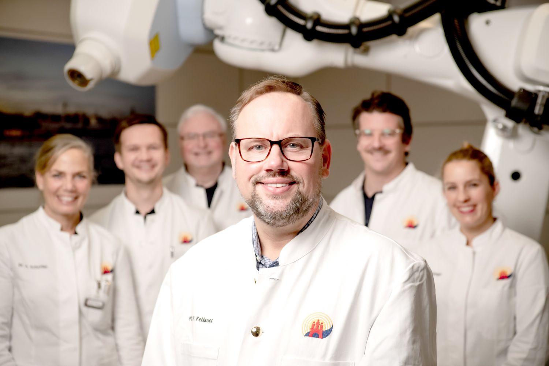 Das Ärzte-Team des Strahlenzentrums Hamburg